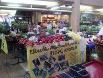 Štand na tržnici